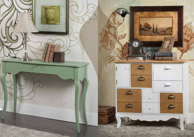 Fabrica de muebles vintage y auxiliares estilo vintage - Muebles de cocina estilo retro ...